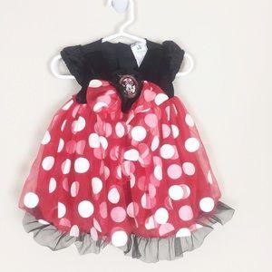 Infant Girls Disney Baby Minnie Dress w/ Headband
